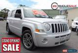 Classic 2010 Jeep Patriot MK Limited Wagon 5dr CVT Auto Stick 6sp 4x4 2.4i [MY10] A for Sale
